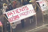 Hospital in Pittsburgh's labor showdown
