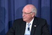 Cheney tries to reclaim position in the GOP