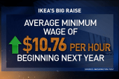 Companies work to raise the wage
