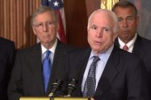 McCain blames snowstorm for letter to Iran