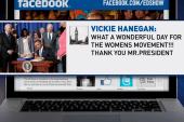President Obama signs VAWA