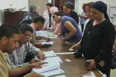 Voters line up to pick Egyptian president