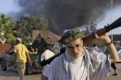 Confusion causes Libyan rebels to shoot at...