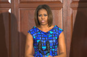 Michelle Obama's fierce 'food fight'