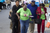 Obama: Voting rights blockading 'un-American'