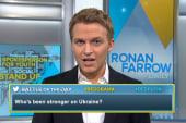 Who's stronger on Ukraine--Putin or Obama?