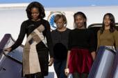 Obama women making a splash in China