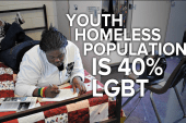 40% of homeless youth population are LGBT