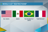For some World Cup teams, a peculiar ban