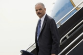 Holder meets with investigators in Ferguson
