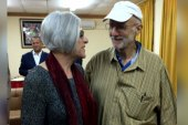 'Emotional' homecoming for Alan Gross