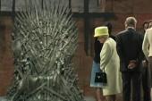 Queen Elizabeth visits set of Game of Thrones