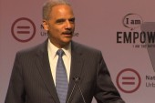 Eric Holder taking Texas to court for...