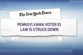 Judge rules voter ID law is an undue burden