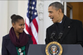 Sasha Obama has a big decision to make