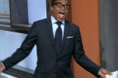 Jonathan Capehart warms up for Way Too Early