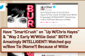 Cher has a 'smart crush' on Willie, and...
