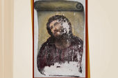 100-year-old painting of Christ gets...