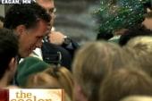 Mitt Romney gets glitter bombed
