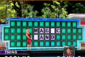 Guy just can't solve Wheel of Fortune puzzle