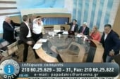 Heated debate leads to slapping on Greek TV