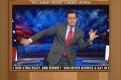 Colbert makes mashup song to Hilary Rosen...