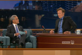 Rahm Emanuel quizzes Conan O'Brien on his...