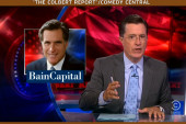 Colbert has fun with retroactive...