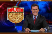 Colbert: 14 cents is three times the value...