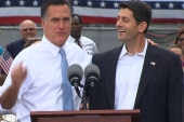 Romney makes a gaffe when introducing Ryan