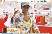 First lady shops at Target