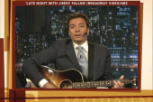 Jimmy Fallon says farewell to Weiner