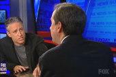 Stewart to Fox News host: 'You're insane'