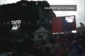 Stage collapses during Cheap Trick concert