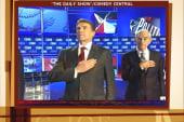 Stewart weighs in on the GOP debate