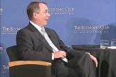 Boehner in rare form after Thursday job...