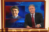 Jon Stewart: Why is Perry droppin' like a...