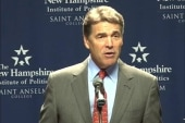 Rick Perry confuses voting age, election day