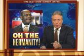 Jon Stewart: Cain could've chosen a better...