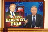 Stewart and Colbert take on Trump's debate