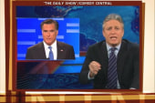 Jon Stewart sets Romney straight on Gingrich