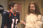 On SNL, Jesus tells Tebow he's reason for...
