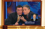 Colbert, Stewart have more fun with superPACs