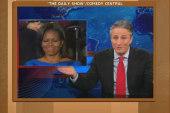 Stewart, Colbert weigh in on Obama's milk...