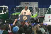 Plant manager introduces Obama -- and...