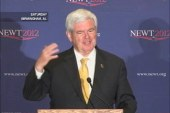 Gingrich and Romney: Who REALLY is a fan...