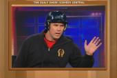 Will Ferrell talks to Jon Stewart...in a...