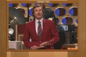 Will Ferrell as Ron Burgundy announces ...