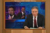 Jon Stewart jokes Obama's slow jam has him...