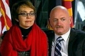 Giffords attends vigil on shooting...